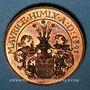Coins Alsace. Strasbourg. Naisssance de Maurice Himly. 1891. Médaille cuivre. 30,4 mm.