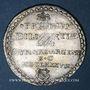 Coins Alsace. Strasbourg. Prix d'Académie. 1688. Jeton argent. 29,44 mm.