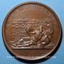 Coins Alsace.Strasbourg. Rétablissement du culte catholique à la cathédrale. 1681. Médaille bronze. 41 mm.