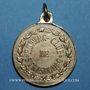Coins Alsace. Strasbourg. Rowing-Club - Régates. 1881. Médaille laiton. 23 mm. Avec son anneau