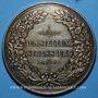 Coins Alsace. Strasbourg. Société apicole d'Alsace-Lorraine - Exposition. 1903. Médaille vermeil. 42,5 mm