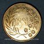 Coins Alsace. Strasbourg. Société La Chorale. 1881. Médaille laiton. 24,5 mm