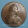 Coins Alsace. Strasbourg. Soumission de Strasbourg. 1681. Médaille bronze