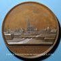 Coins Alsace. Strasbourg. Statue de Kléber. 1840. Médaille bronze. 59,2 mm. Gravée par Emmerich