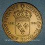 Coins Alsace. Strasbourg. Tricentenaire du rattachement  à la France. 1981. Médaille bronze. 45 mm