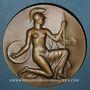 Coins Alsace. Strasbourg. Université de Strasbourg. 1941. Médaille bronze. 57,63 mm. Signée K. S.