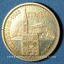 Coins Alsace. Strasbourg. Visite de Jean-Paul II. 8-11 octobre 1988. Médaille argent doré
