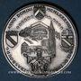 Coins Alsace. Strasbourg. Visite de Jean-Paul II. 8-11 octobre 1988. Médaille argent. Signée Britschu