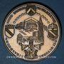 Coins Alsace. Strasbourg. Visite de Jean-Paul II. 8-11 octobre 1988. Médaille bronze. Signée Britschu