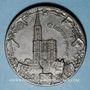 Coins Alsace. Surveillance du territoire allemand à la frontière des Vosges. 1914-1917. Médaille zinc.