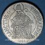 Coins Alsace. Thann. 7e centenaire. 1861. Médaille étain. 25,6 mm