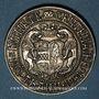Coins Alsace. Thann. 8e centenaire. 1961. Médaille argent. 40,5 mm