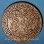 Coins Alsace. Thann. 8e centenaire. 1961. Médaille bronze. 40,5 mm