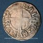 Coins Alsace. Thann. Doppelvierer (16e siècle). Variante inédite ! B