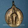 Coins Alsace. Thann. Médaille religieuse. (17-18e). Bronze, ovale. 26,37 x 38,32 mm, avec son anneau