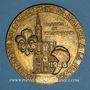 Coins Alsace. Tricentenaire du rattachement de l'Alsace à la France. 1948. Médaille bronze