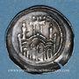 Coins Alsace. Wissembourg. Abbaye. Denier (2ème tiers du 12 siècle)