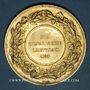 Coins Bas-Rhin. Comité régional agricole. 1877. Médaille doré. 45,65 mm