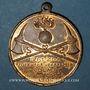 Coins Colmar. 4e rencontre des associations de pompiers d'Alsace-Lorraine. 1904. Médaille en bronze doré