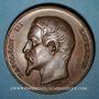 Coins Colmar. Concours régional agricole. 1860. Médaille cuivre. 50,6 mm