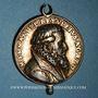 Coins Colmar. Emmanuel Betulée, pasteur (1553-1589). Vers 1585. Argent doré avec bélière et pendant