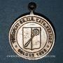 Coins Colmar. Tournoi de gymnastique des cercles catholiques de Haute Alsace 1898. Médaille laiton argenté