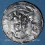 Coins Evêché de Strasbourg. Conrad II (1027-39) ou Henri III (1039-56). Denier à la Vierge et à l'empereur