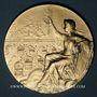Coins Guebwiller. E. Hartmann, président de la Direction de l'Agriculture d'Alsace & Lorraine. Argent doré