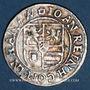 Coins Hanau-Lichtenberg. Jean René I (1599-1625). 3 kreuzers n. d., à la titulature de Rodolphe II