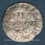 Coins Hanau-Lichtenberg. Philippe Wolfgang (1625-1641). 2 kreuzers 1631. Woerth
