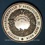 Coins Haut-Rhin. Société départementale d'agriculture du Haut-Rhin–Prix d'encouragement. Argent. 36,38 mm
