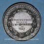 Coins Ht-Rhin. Société départementale d'agriculture du Haut-Rhin – Prix d'encouragement. 1849. Médaille br
