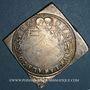 Coins Landgraviat d'Alsace. Ensisheim. Léopold V, archiduc (1619-1632). 1/2 taler sur flan carré. Brisach