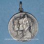Coins Libération de l'Alsace et de la Lorraine. 1918. Médaille argent