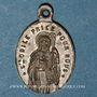 Coins Mont Sainte-Odile. La fontaine. Bronze argenté