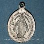 Coins Mont Sainte-Odile. Souvenir 1830. Bronze argenté