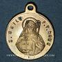 Coins Mont Sainte-Odile. Souvenir. Bronze argenté