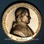 Coins Mulhouse. Consécration de la nouvelle église catholique. 1860. Médaille étain doré. 50,15 mm