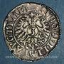 Coins Murbach et Lure. André d'Autriche (1587-1600). 3 kreuzers n.d. Guebwiller