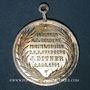 Coins Oderen. Jubilé d'or religieux  du curé J. Ditner. 1891. Médaille cuivre argenté. 26,24 mm
