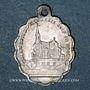 Coins Oderen. Souvenir de la Chapelle Notre Dame du Bon Secours (fin 19e – début 20e). Médaille aluminium