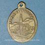 Coins Oderen. Souvenir de Notre Dame d'Oderen (fin 19e – début 20e). Laiton. Ovale. 19,24 x 26,12 mm