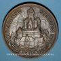 Coins Orschwiller. Restauration du château du Haut-Koenigsbourg (1899-1908). Bronze. 69,95 mm