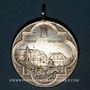 Coins Pfaffenheim. Sanctuaire du Schauenberg. Centenaire de la fête de la translation 1911. Laiton argenté