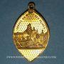 Coins Reiningue (68) - Oelenberg. Abbaye du Mont des Olives. Médaille laiton