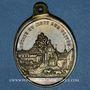 Coins Reiningue (68) - Oelenberg. Abbaye du Mont des Olives. Médaille laiton.