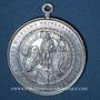 Coins Strasbourg. 25e anniversaire de la fondation de l'Université Kaiser Wilhelm. 1897. Médaille alu.