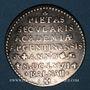 Coins Strasbourg. Centenaire de la fondation de l'Académie. 1667. Argent 24,34 mm