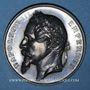 Coins Strasbourg. Concours Régional d'Agriculture. 1866. Médaille argent. 50,77 mm