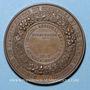 Coins Strasbourg. Concours Régional d'Agriculture - Animaux reproducteurs. 1859. Bronze. 50,6 mm